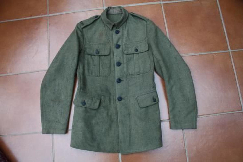 1918 PATTERN OTHER RANKS BRITISH SERVICE DRESS TUNIC:
