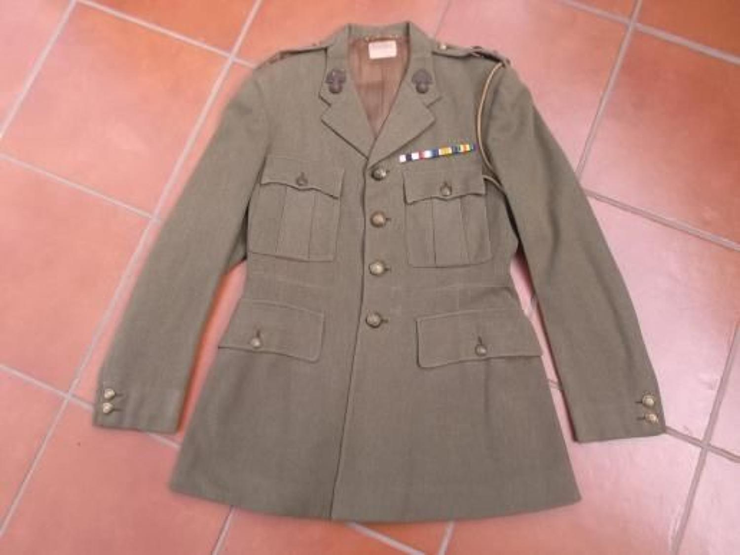 BRITISH OFFICERS TUNIC TO THE 17th ROYAL FUSILIERS