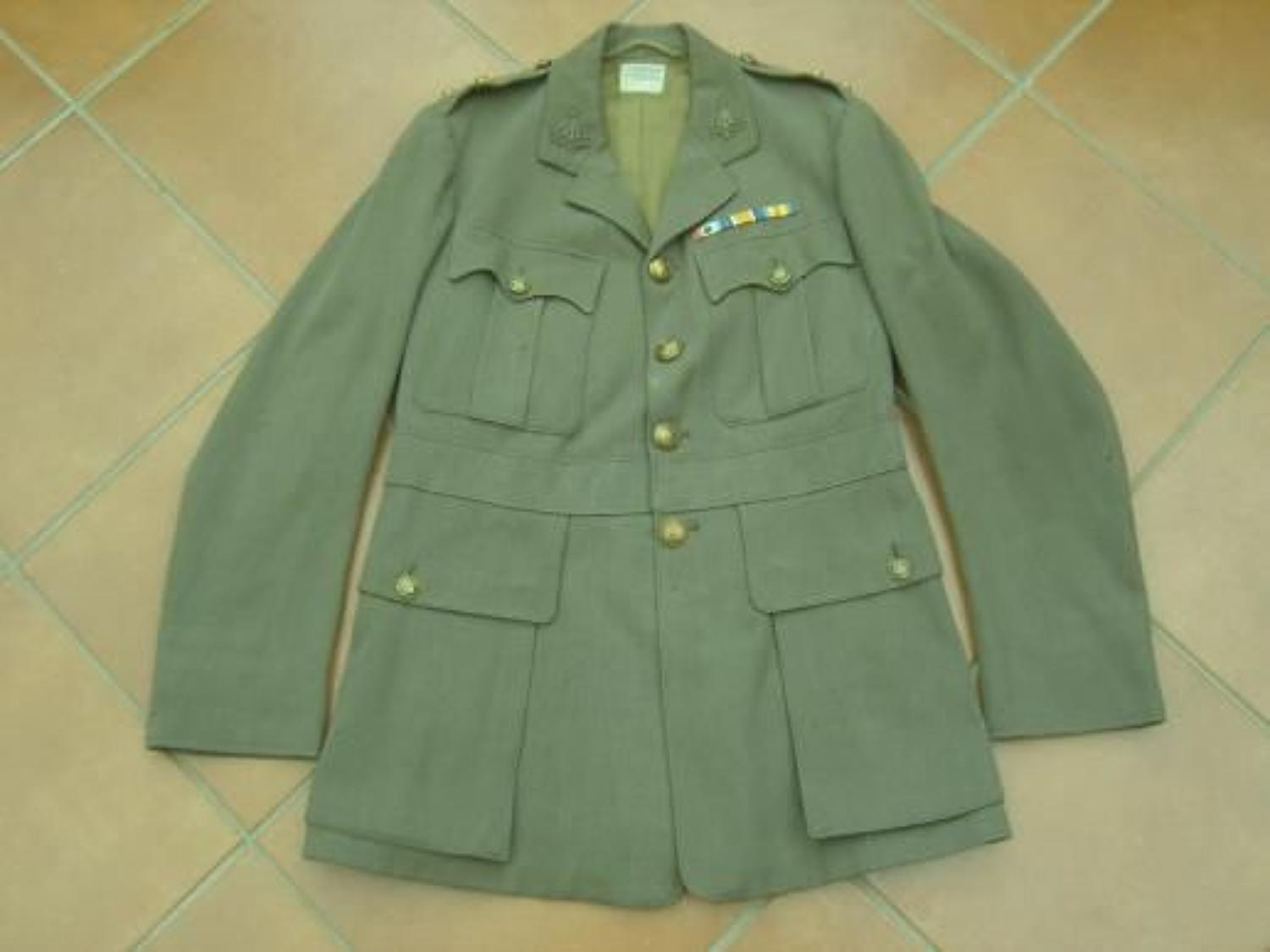 BRITISH OFFICERS TUNIC TO THE YORKSHIRE REGIMENT