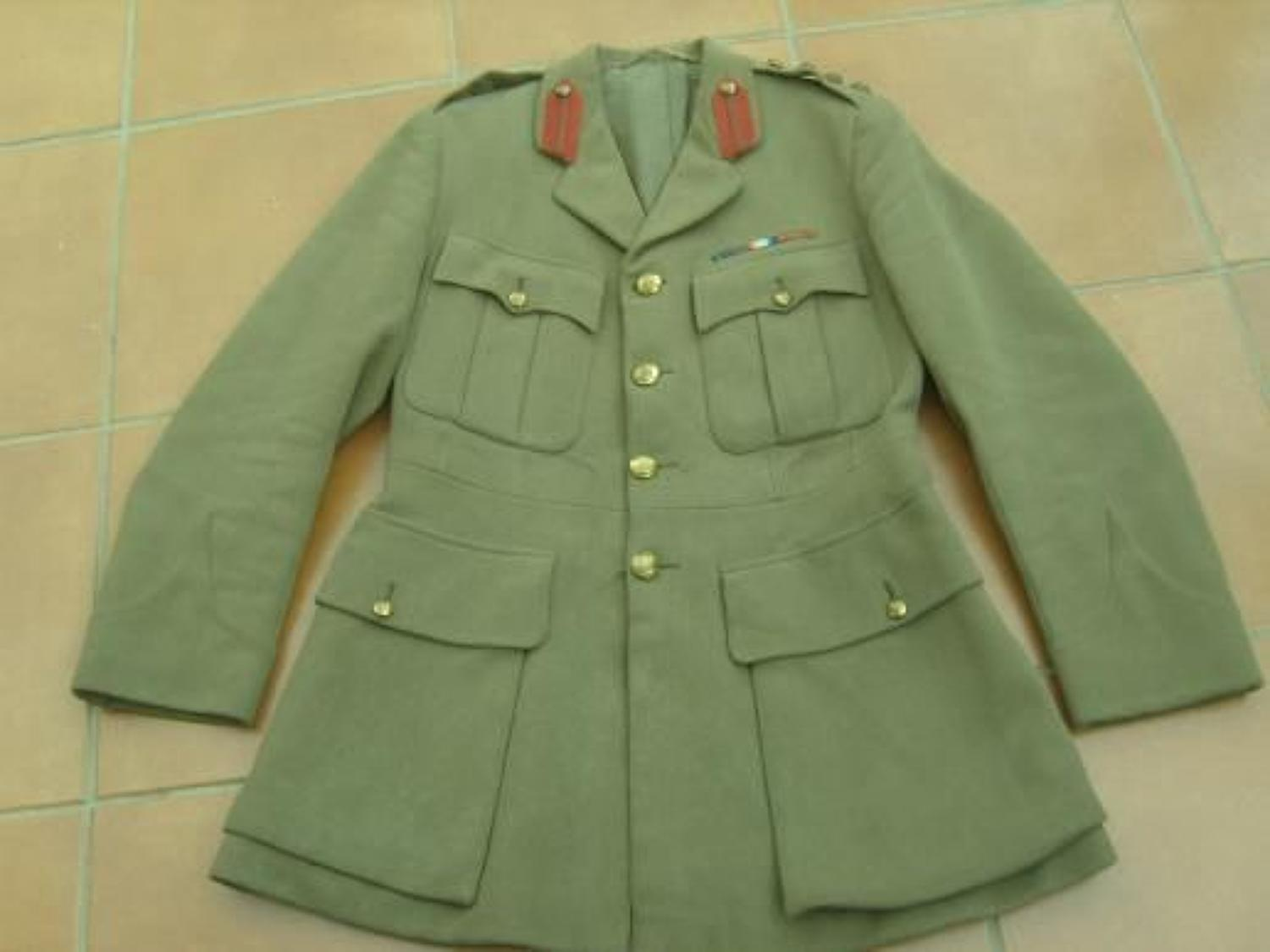 1917 DATED BRITISH ROYAL ARTILLERY STAFF OFFICERS TUNIC
