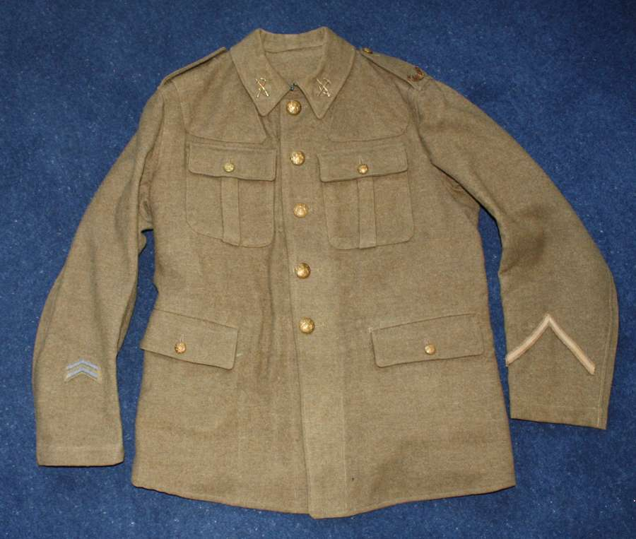 1902 PATTERN OTHER RANKS BRITISH SERVICE DRESS TUNIC LOYAL NORTH LANCS