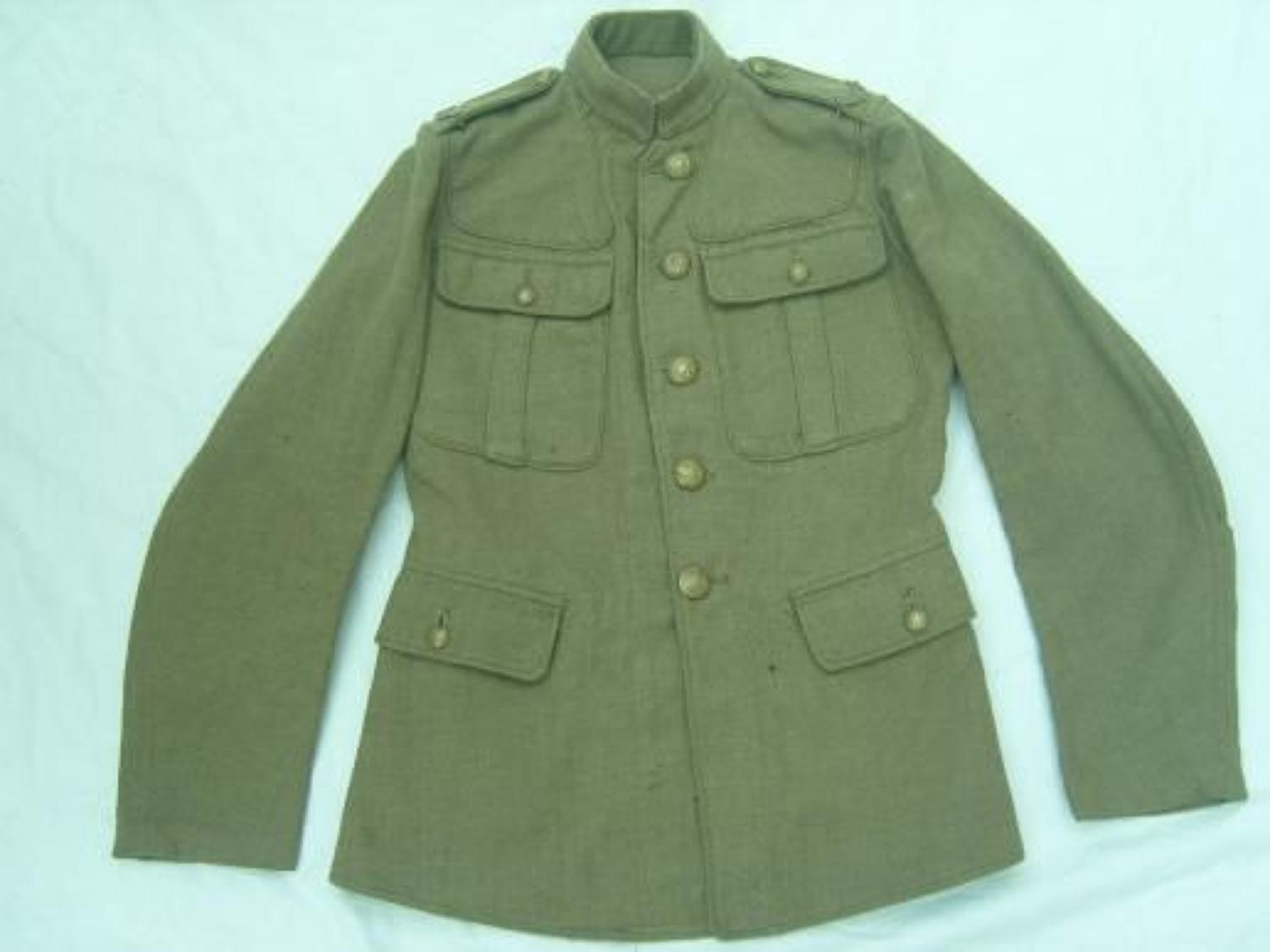 1902 PATTERN OTHER RANKS BRITISH SERVICE DRESS TUNIC: MIDDLESEX REGIMENT