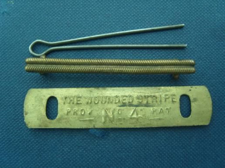 British WW1 O'Rs Brass Wound Stripe.