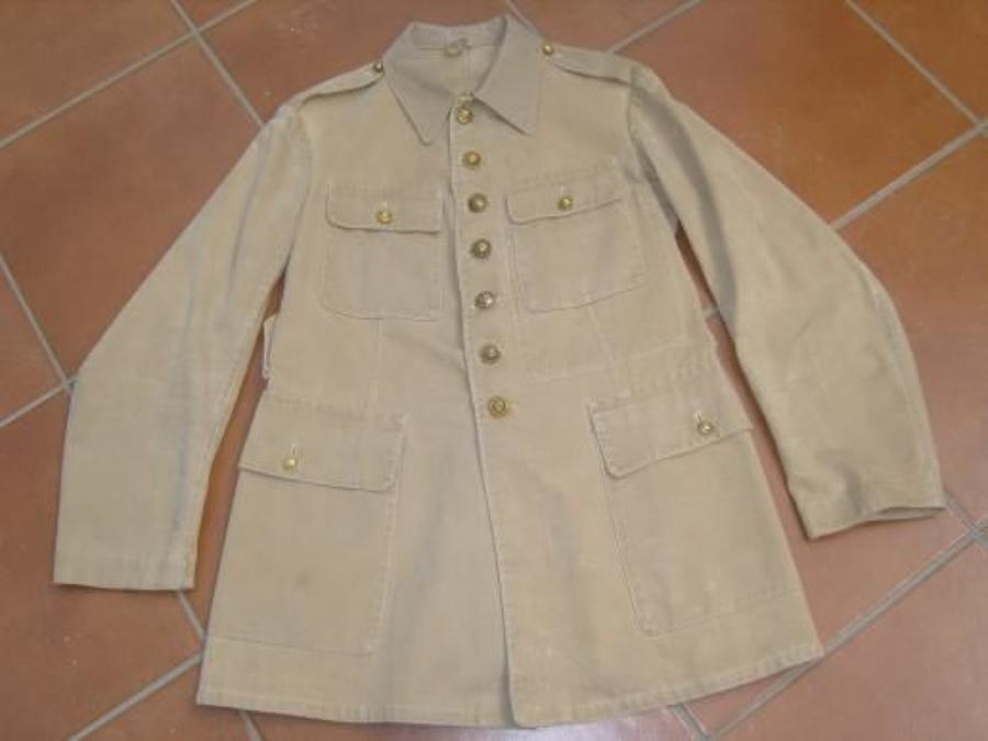 FRENCH WW1 OTHER RANKS KHAKI DRILL KD TUNIC