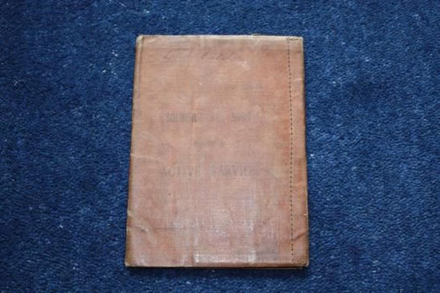 WW1 British Soldiers Pay Book: Private Fletcher, Lancashire Fusiliers.