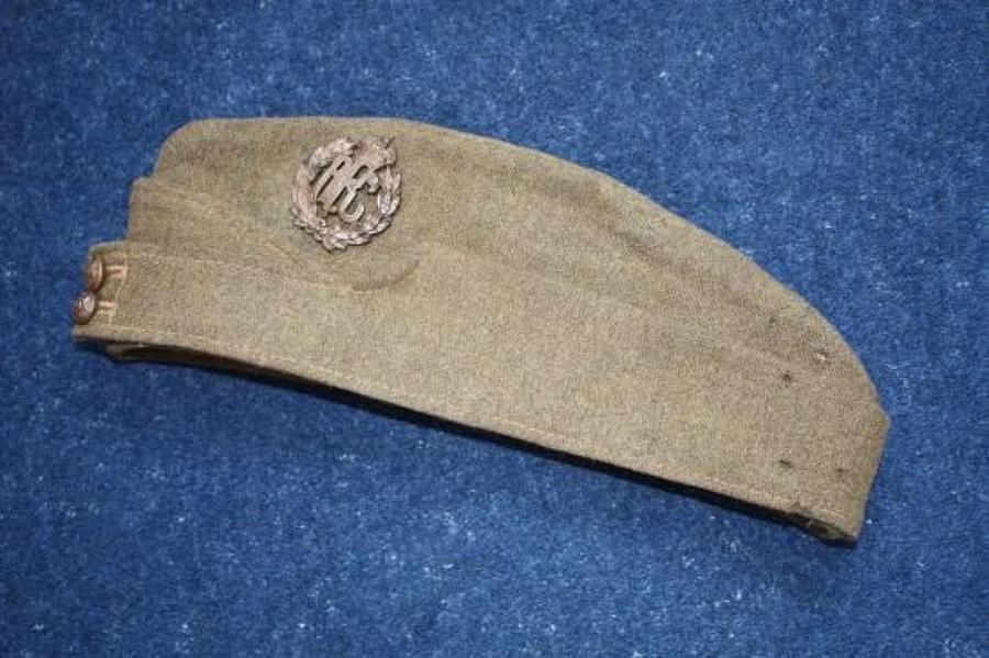 WW1 OTHER RANKS RFC KHAKI SIDE CAP
