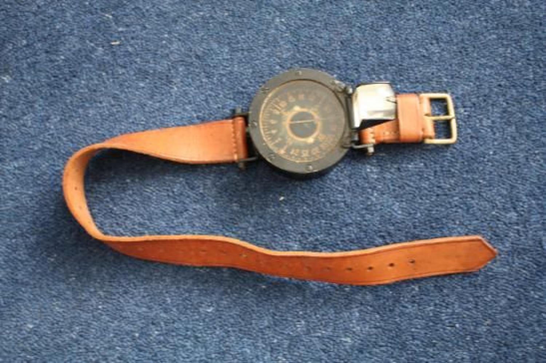 WWI British RFC & RNAS Arm / Leg Compass.