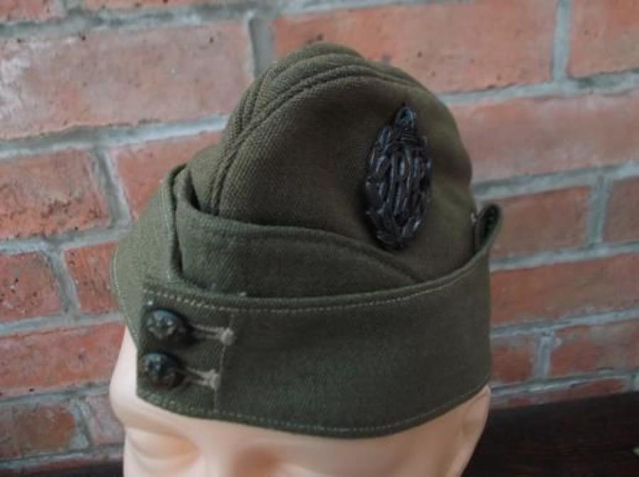 RFC WW1 Officers Royal Flying Corps Khaki Side Cap