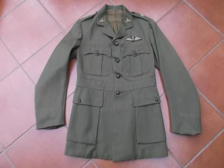 RFC Officers 1916 dated Former Cuff Rank Khaki Service Dress Tunic