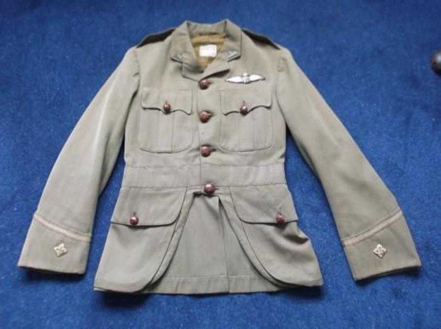 RFC Officers Cuff Rank Khaki Scottish Pattern Service Dress Tunic