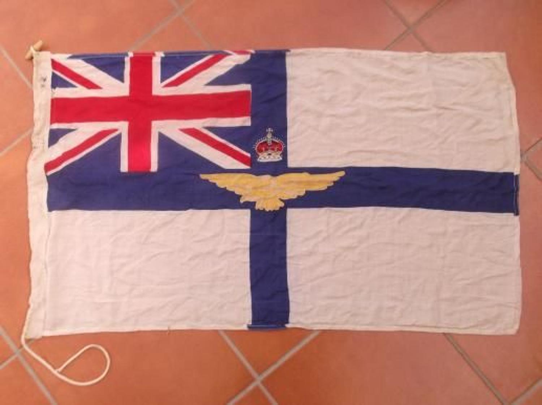 ORIGINAL WW1 BRITISH RAF RFC FLAG. AM MARKED