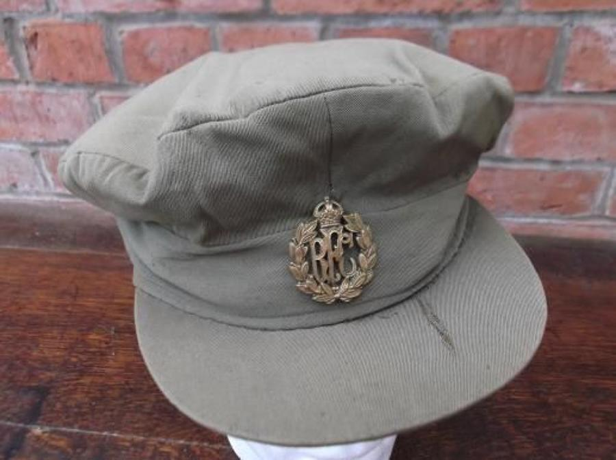 RFC WW1 BRITISH OFFICERS FLOPPY STYLE TRENCH CAP