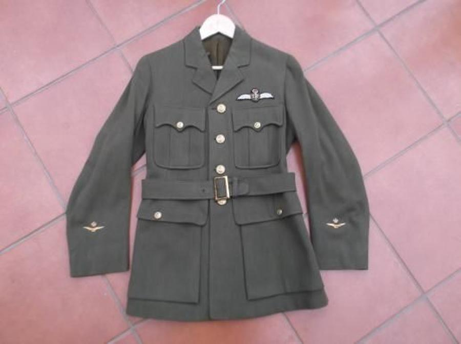 RAF Officers Khaki 1918 First Pattern tunic