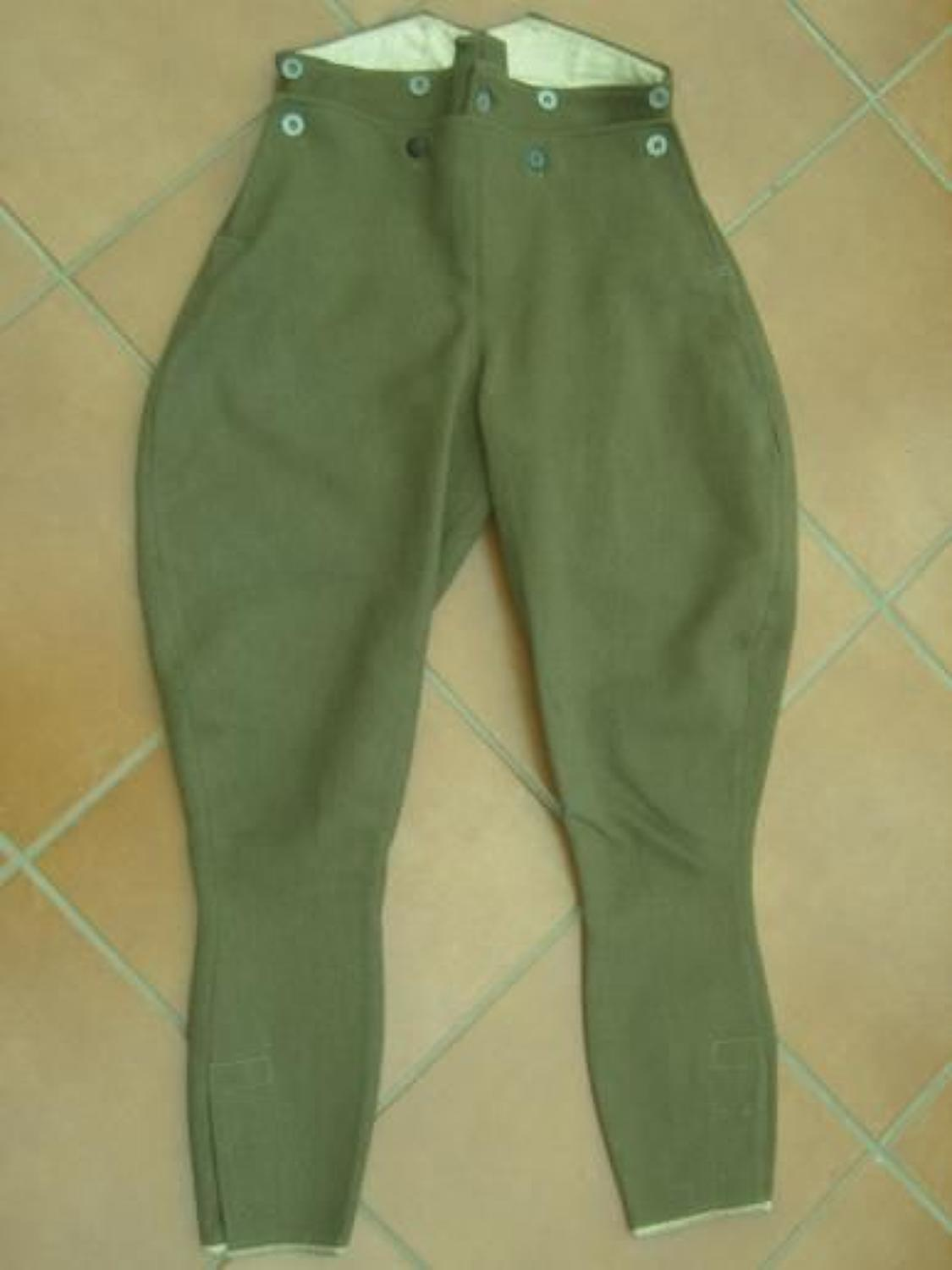 Royal Flying Corps Other Ranks Pantaloons/ breeches