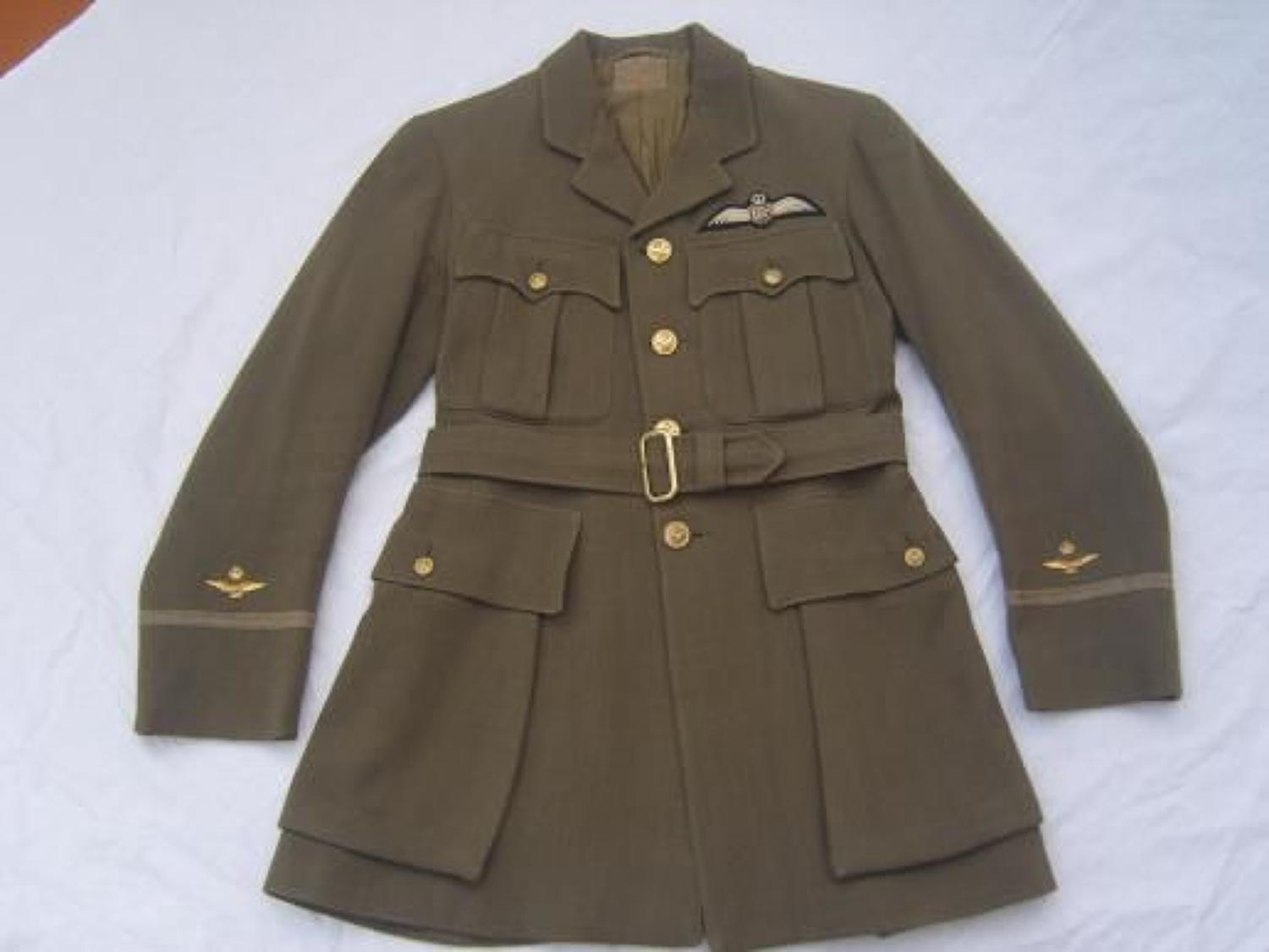 RAF Officers Khaki 1918 First Pattern tunic