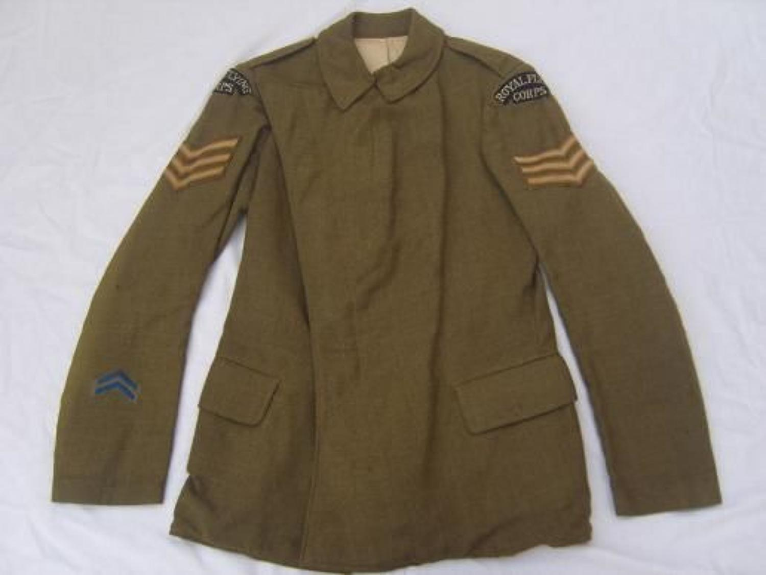 WW1 OTHER RANKS ROYAL FLYING CORPS MATERNITY TUNIC