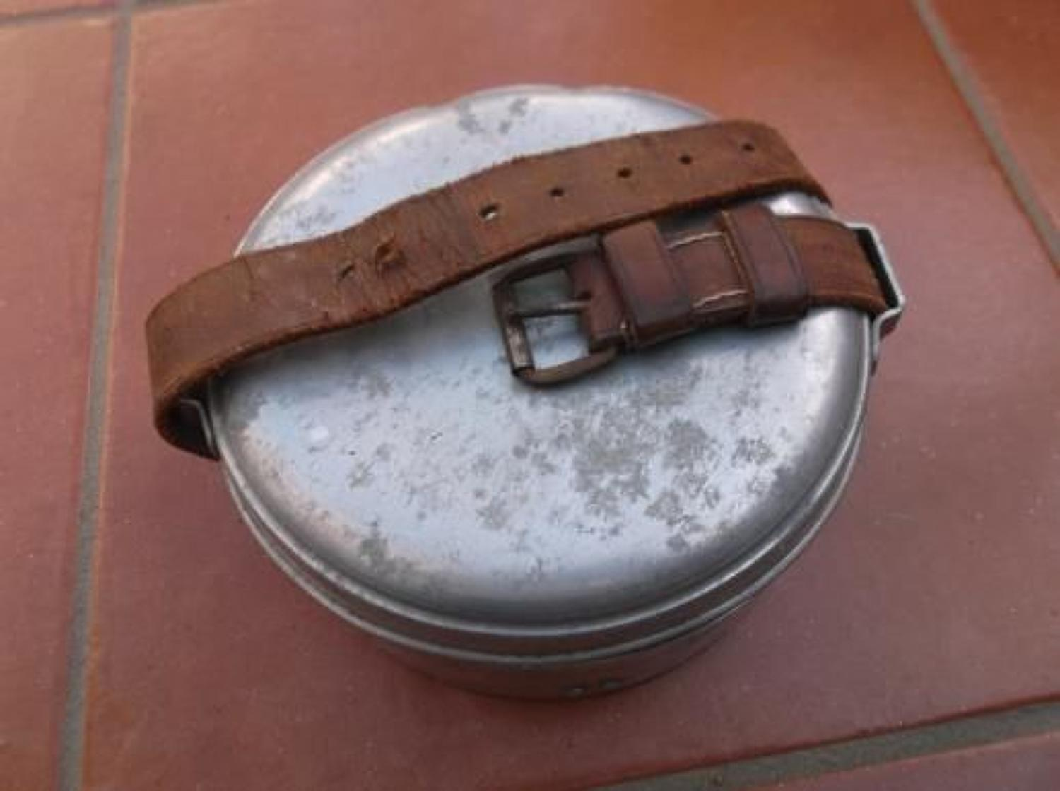 WW2 Private Purchase Officers Mess Tins.