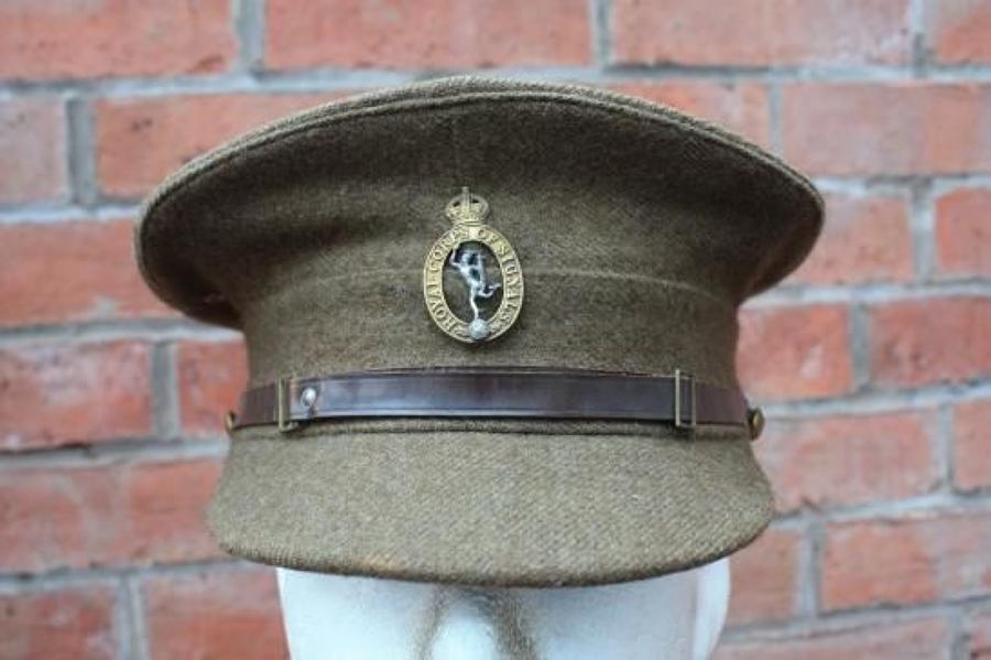 1922 PATTERN BRITISH OTHER RANKS KHAKI SERVICE DRESS CAP