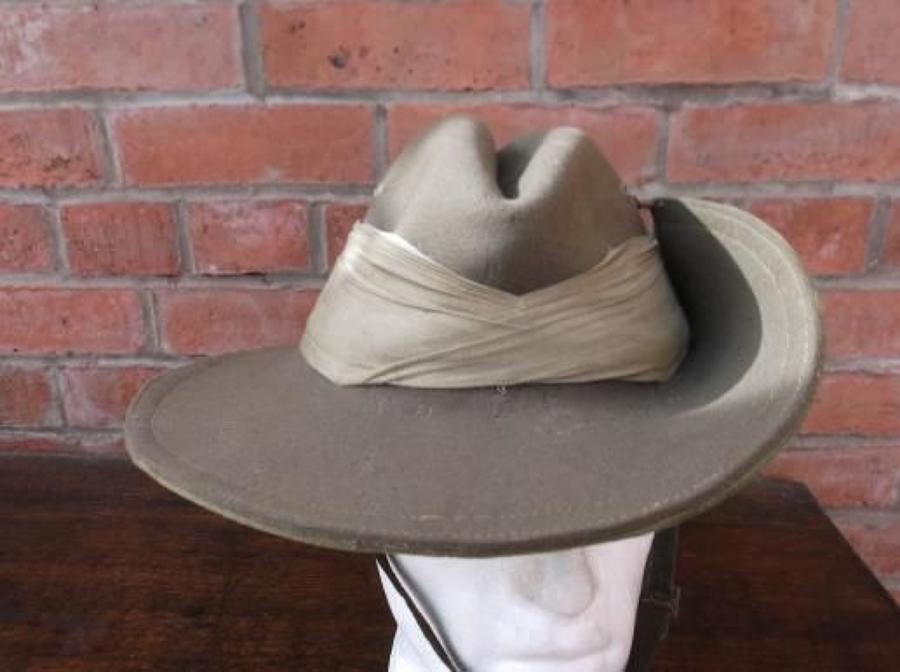 Good WW2 Australian made Slouch Hat