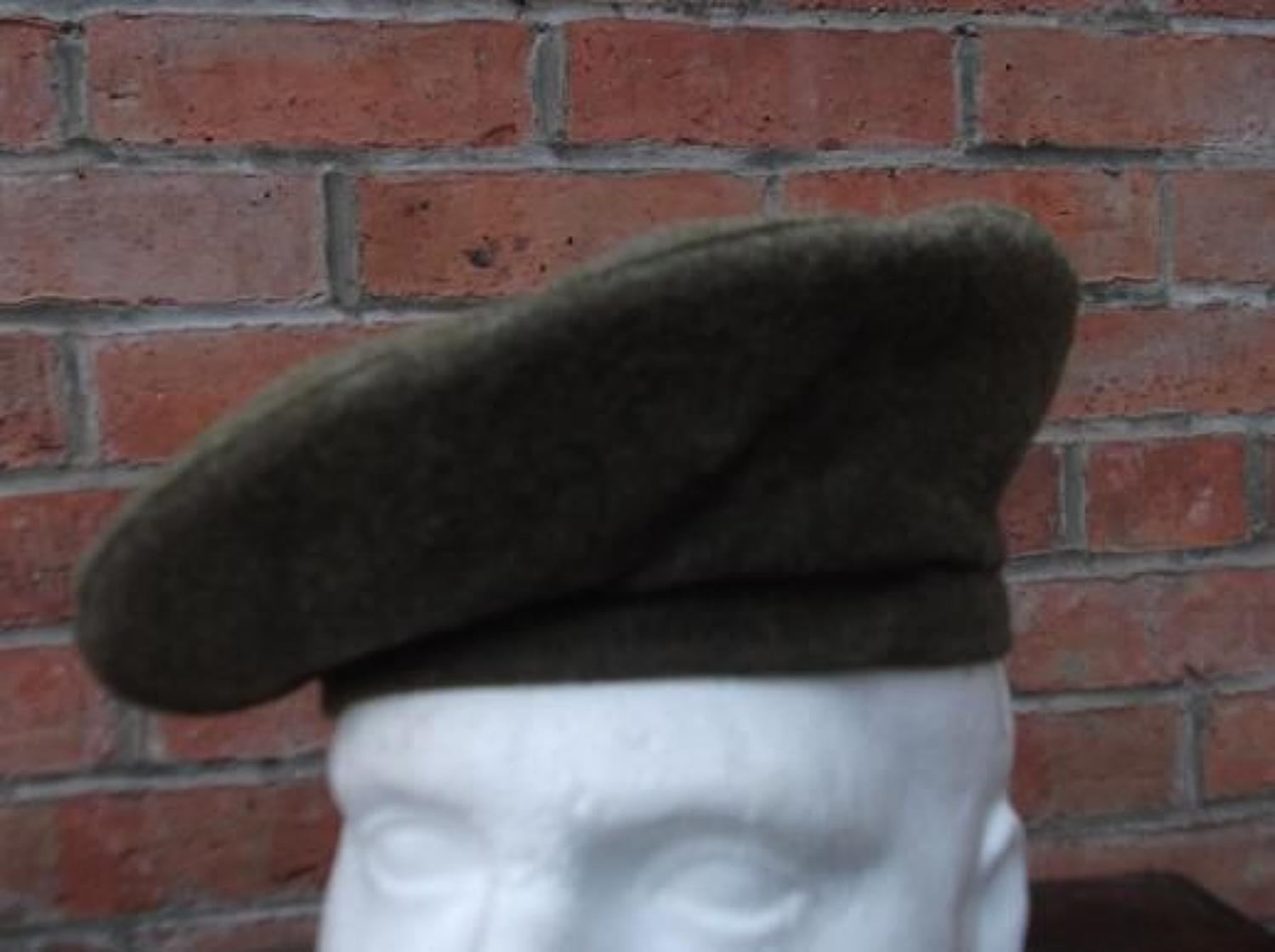 BRITISH GENERAL SERVICE CAP WW2 1945