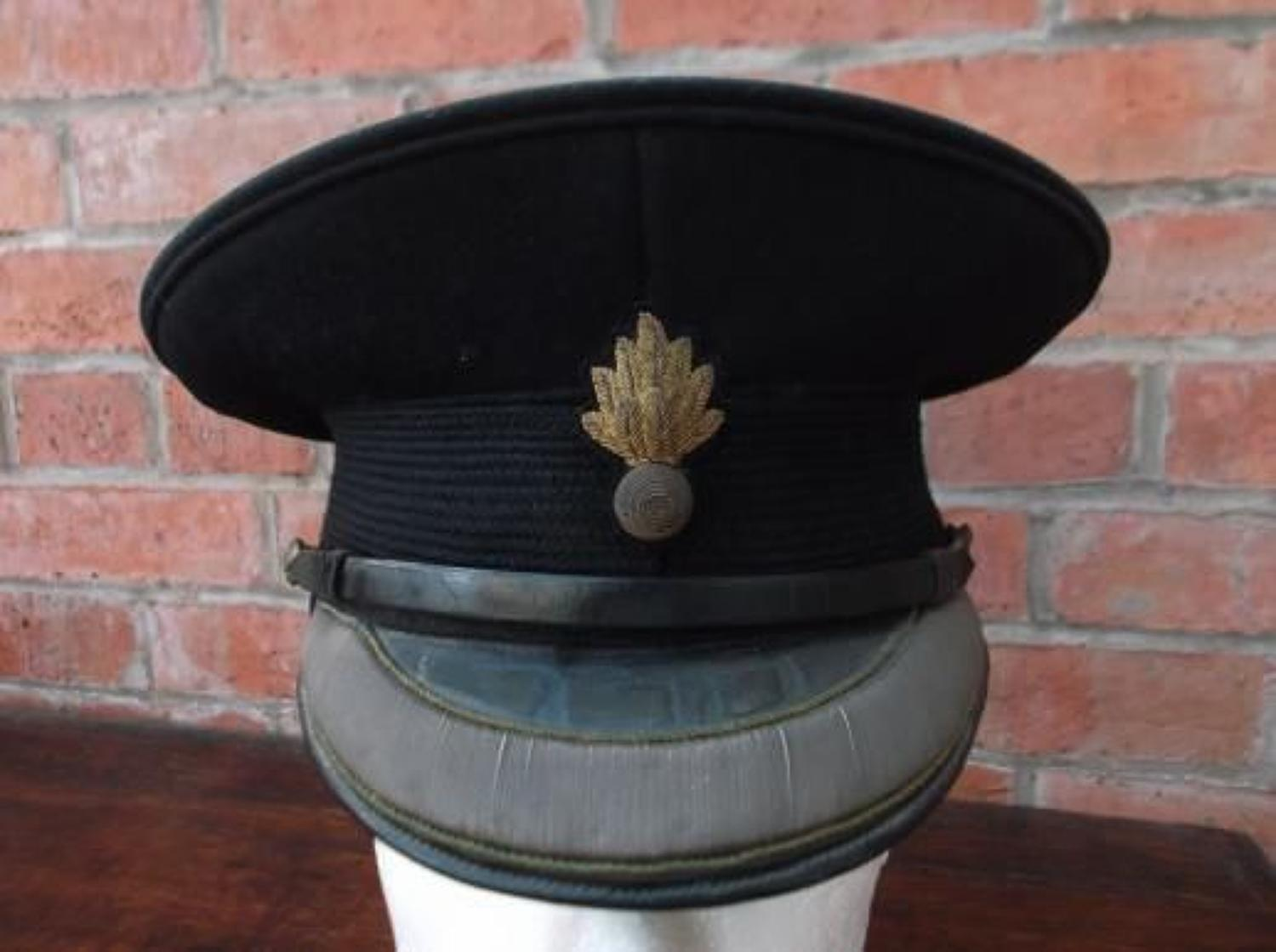 BRITISH WW2 GRENADIER GUARD OFFICERS FIELD SERVICE CAP