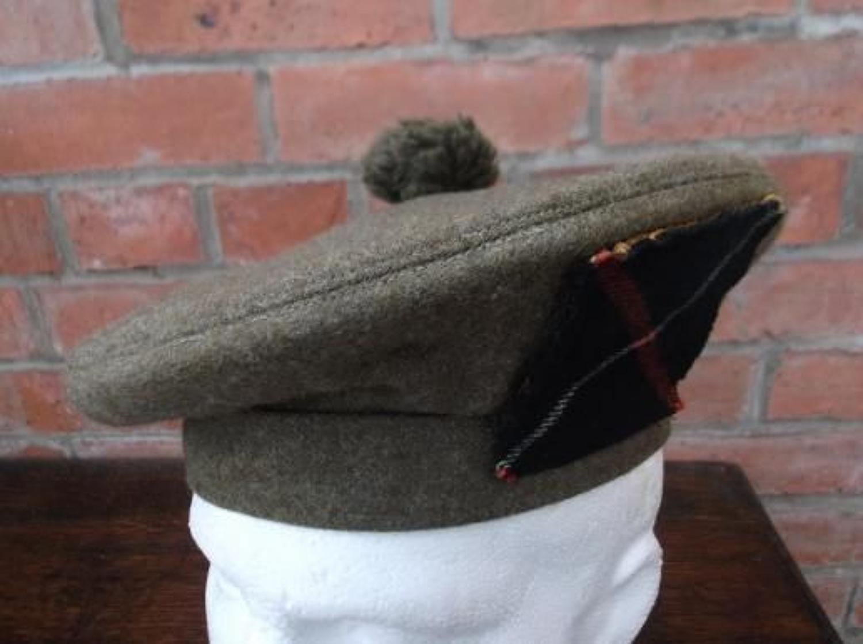1943 DATED BRITISH GENERAL SERVICE CAP WW2