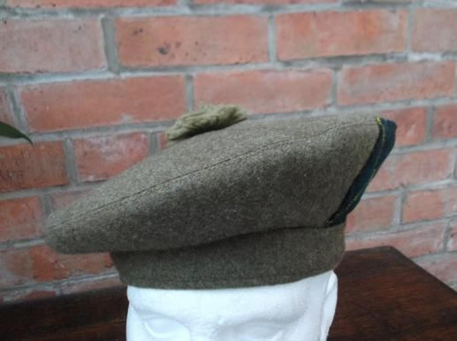 1942 BRITISH GENERAL SERVICE CAP WW2