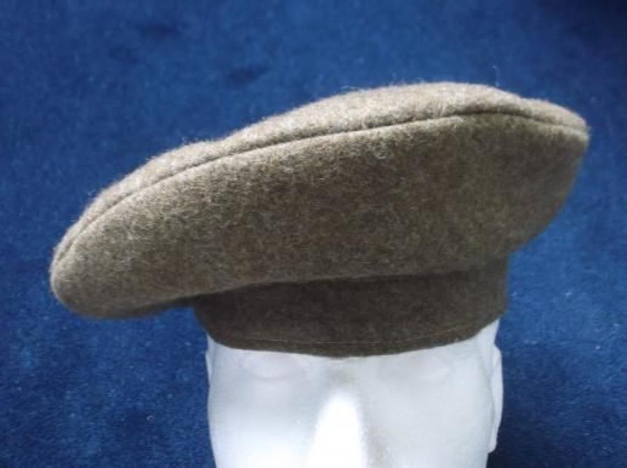 BRITISH GENERAL SERVICE KHAKI CAP WW2 1946