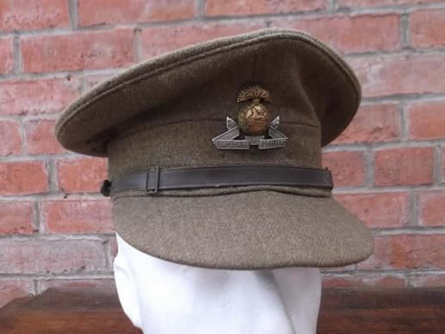 1922 PATTERN BRITISH KHAKI SERVICE DRESS CAP