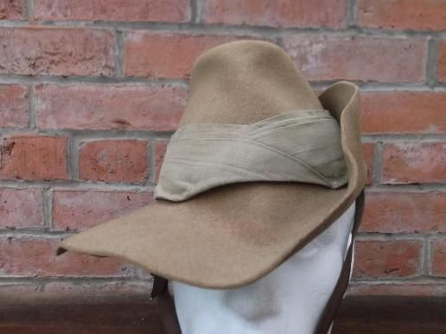 WW2 British Army Slouch Hat