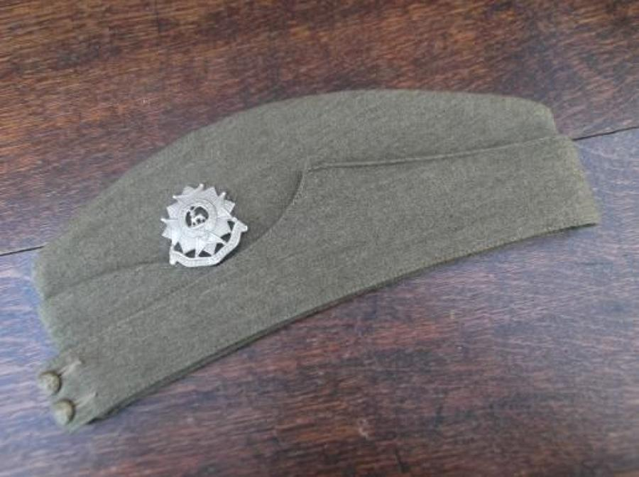 1940 Dated British Army Khaki Side Cap