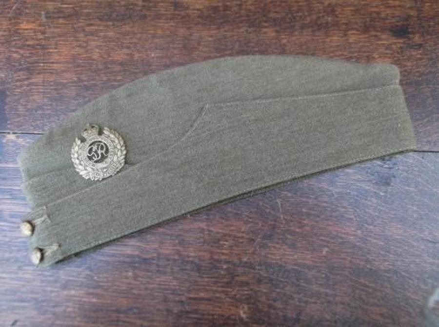 1941 Dated British Army Khaki Side Cap