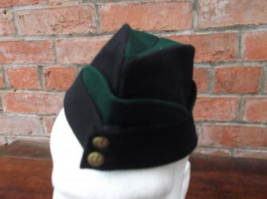 BRITISH REGIMENTAL WW2 COLOURED FIELD SERVICE CAP