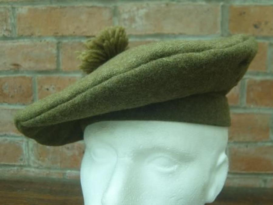 WW1 Pattern British / Canadian Army Tam O'Shanter