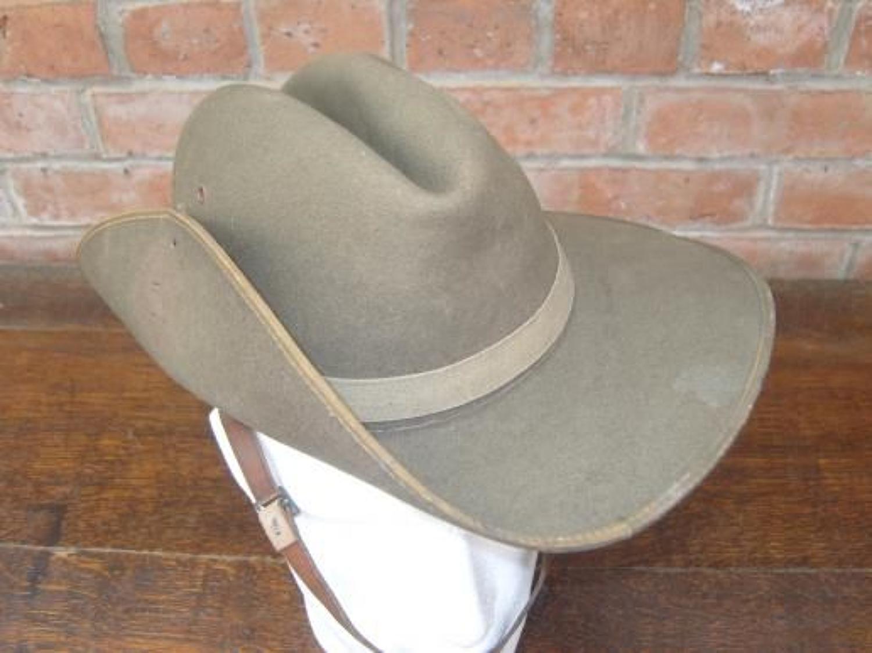 Rare WW2 1941 dated Australian Slouch hat