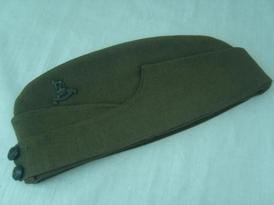 British Army Officers Side Cap. Army Pay Corps