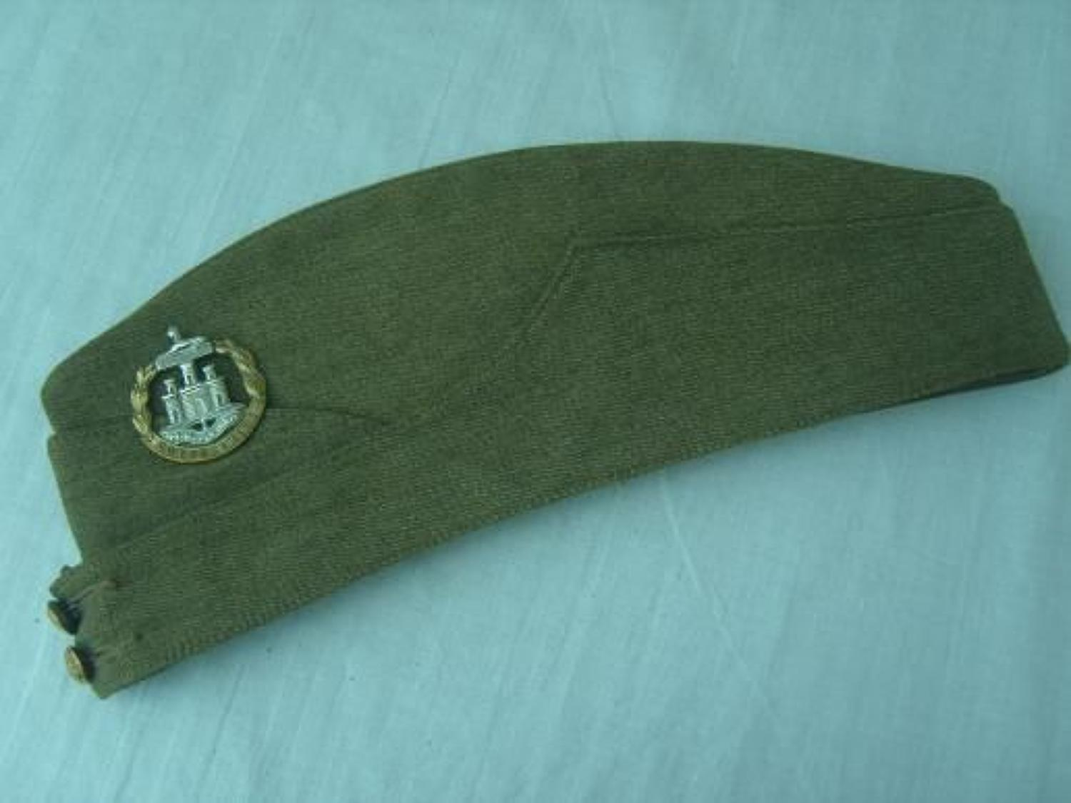BRITISH 1942 DATED DORSET REGIMENT SIDE CAP