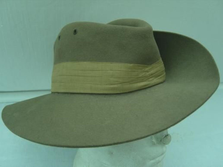 WW2 British Army Slouch Hat