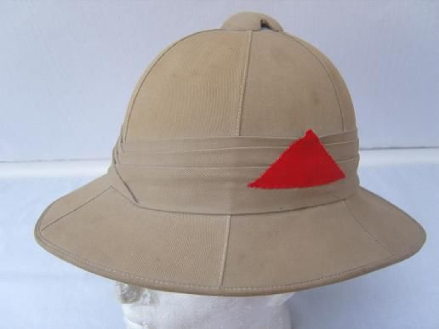British Army Other Ranks Pre  WW2 Pith Sun Helmet