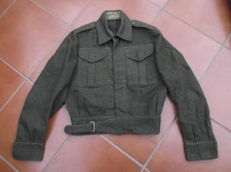 1943 Dated (Canadian Made) British Army Khaki Battledress Blouse