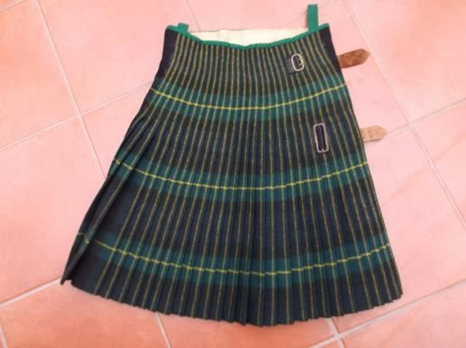 PRE WW2 GORDON HIGHLANDERS OTHER RANKS KILT
