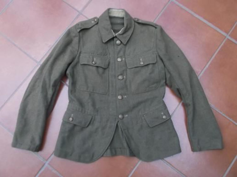 SCOTTISH 1922 PATTERN SERVICE DRESS KHAKI TUNIC 1944.