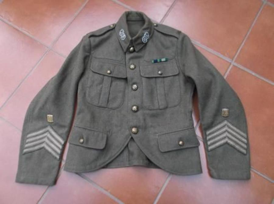 SCOTTISH 1922 PATTERN SERVICE DRESS KHAKI ARGYLL & SUTHERLAND HIGHLANDERS TUNIC