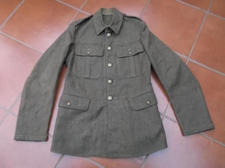 1922 PATTERN BRITISH KHAKI SERVICE DRESS TUNIC UNISSUED