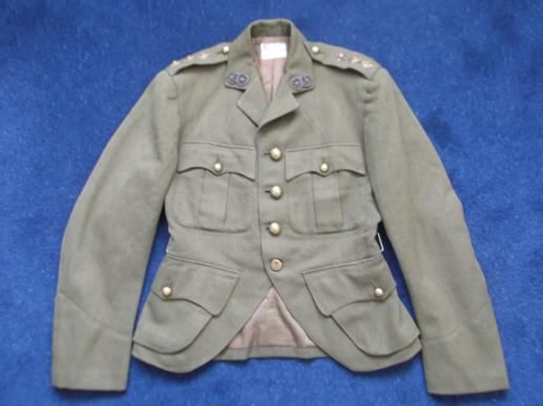 OFFICERS WW2 1940 SCOTTISH CUT AWAY HIGHLANDERS TUNIC