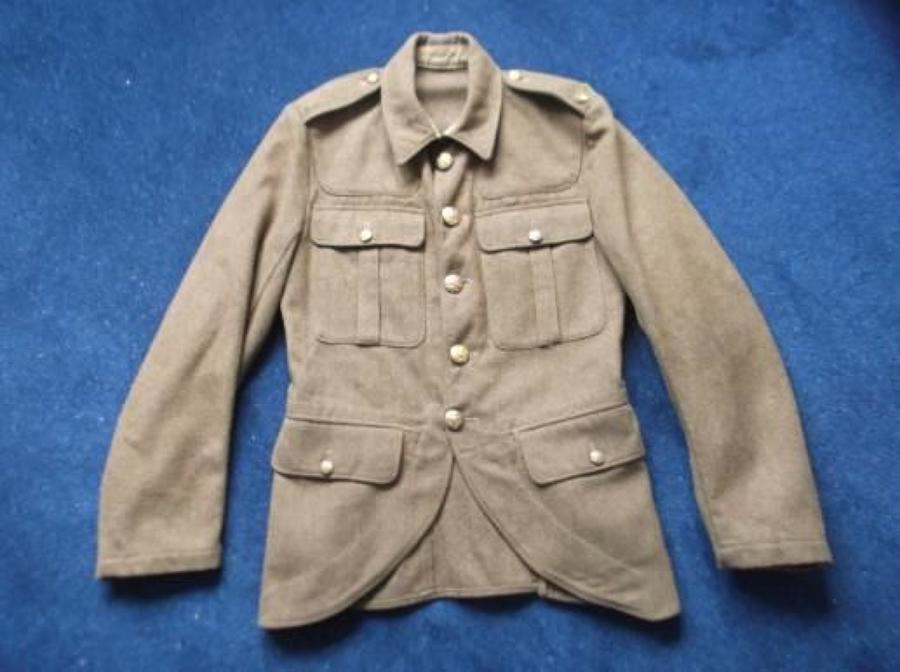 SCOTTISH 1922 PATTERN SERVICE DRESS KHAKI TUNIC