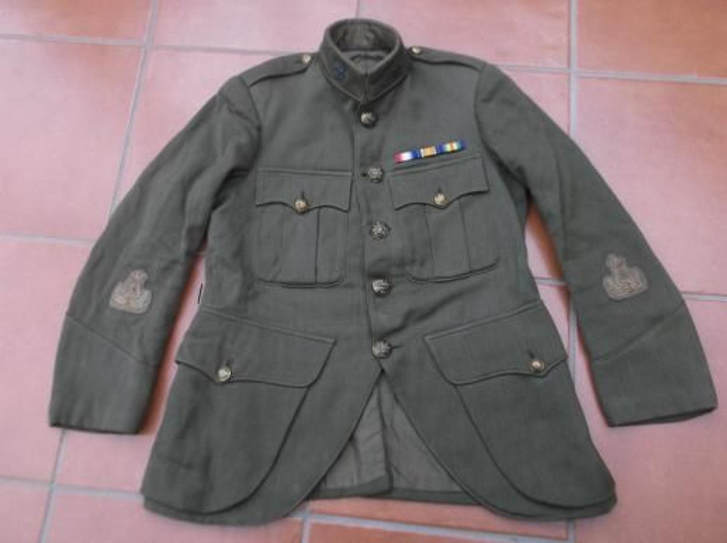WARRANT OFFICERS WW1 OR INTERWAR SCOTTISH CUT AWAY HIGHLANDERS TUNIC