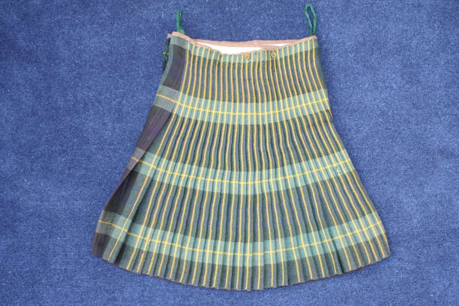 WW2 GORDON HIGHLANDERS KILT