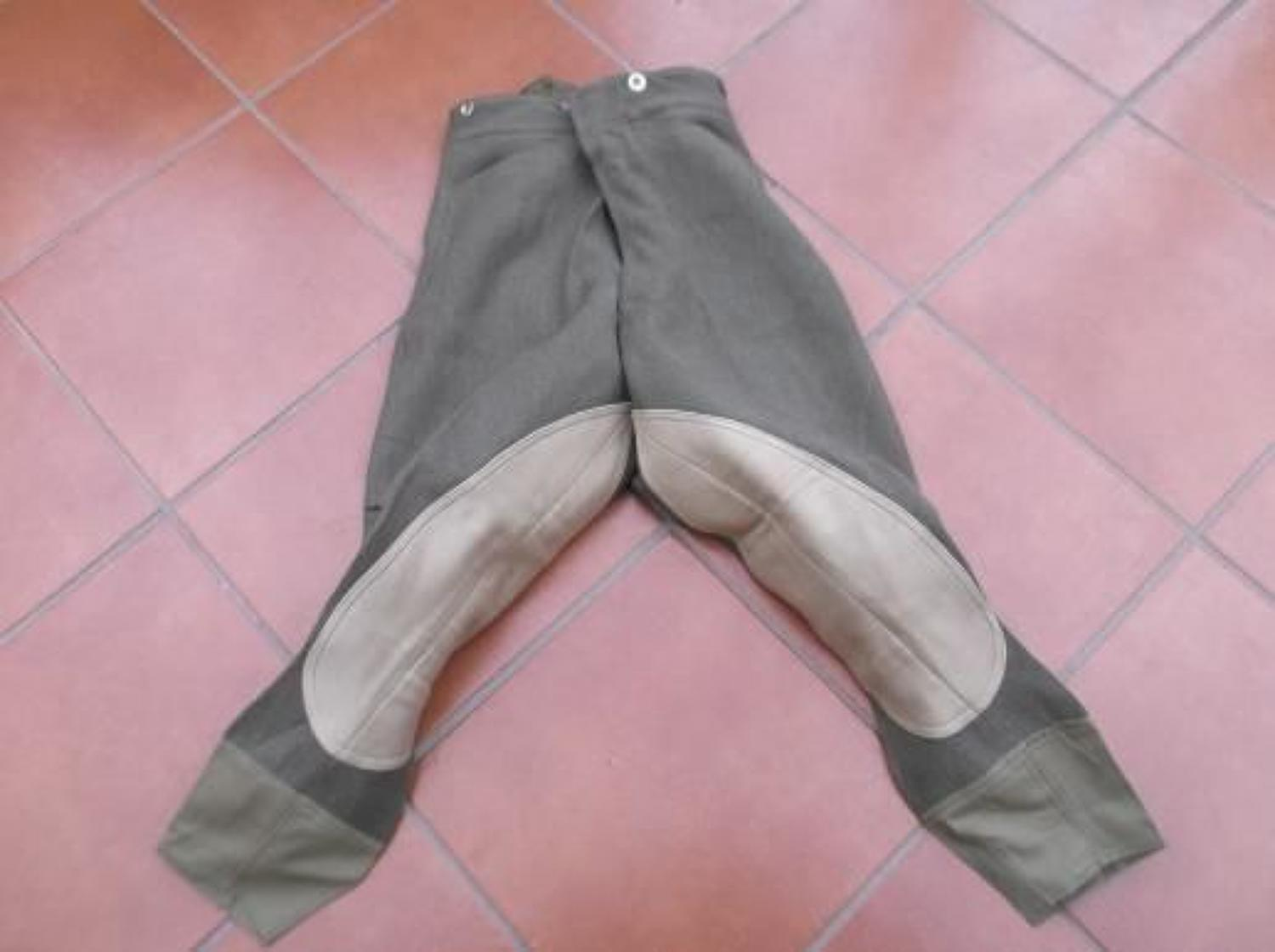 Inter War Bedford Cord Other Ranks Pantaloons / Breeches