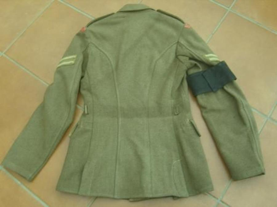 MILITARY POLICE 1922 PATTERN BRITISH KHAKI SERVICE DRESS TUNIC